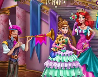 Game Anna And Ariel Dressup