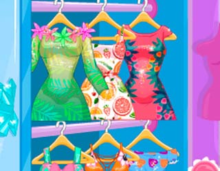 Game Anna And Elsa Tropical Vacation