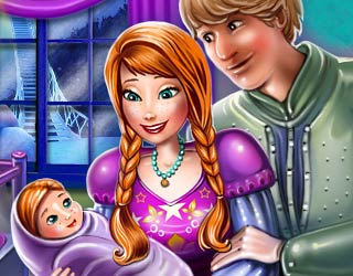 game Anna and Kristoff baby room