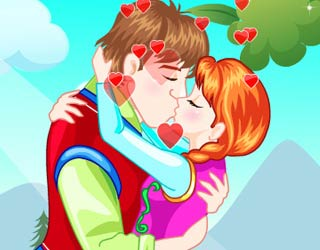 Game Anna and Kristoff True Love Kiss