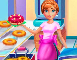 Game Anna Cooking Donuts