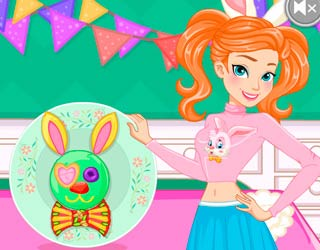 Game Anna Easter Bunny Cake
