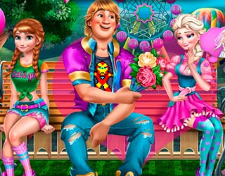 game Anna Frozen: Love Trouble