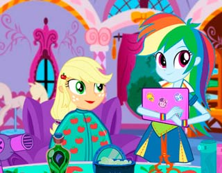 Game Applejack New Hairstyle