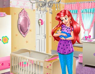 Game Ariel Baby Room Decoration