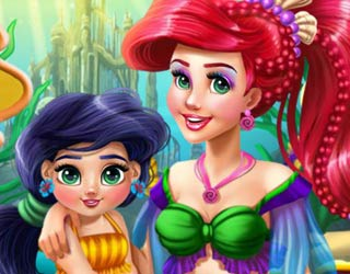 Game Ariel Mommy Real Makeover