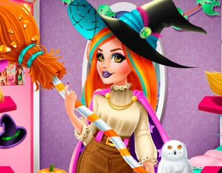 Game Audrey Halloween Witch