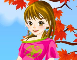 Game Autumn Colors Dress Up