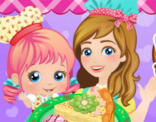 Game Baby Alice: Mommy And Me Cooking Pie