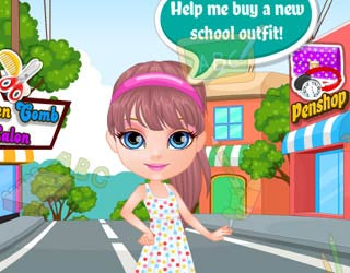 Game Baby Barbie Back To School