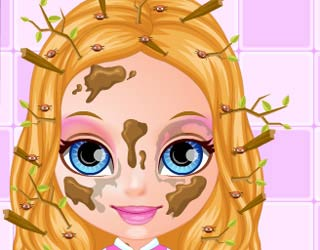 Game Baby Barbie Lice Attack