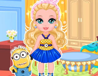 Game Baby Barbie Minion Craze