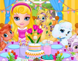 Game Baby Barbie Palace Pets PJ Party