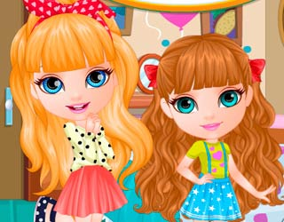 Game Baby Barbie Sisters Surprise