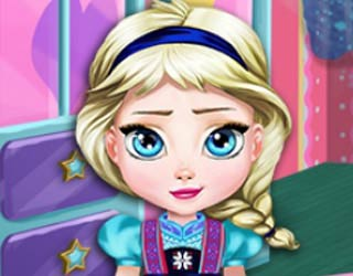 Play free baby elsa room decoration for Baby room decoration games free online