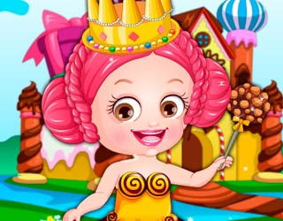 Game Baby Hazel Chocolate Fairy Dressup