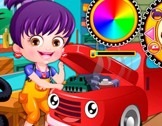 Game Baby Hazel Mechanic Dressup