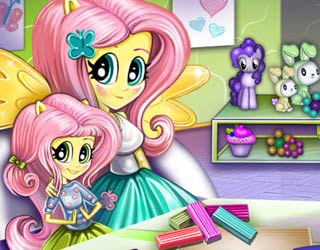 Game Baby Lessons With Fluttershy