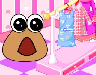 Play free baby pou room decoration for Baby rooms decoration games