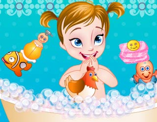 Game Baby Princess Anna Care