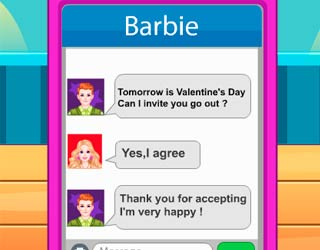 Game Barbie And Ken Valentine Date