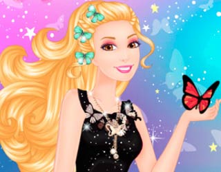 Game Barbie Butterfly Diva