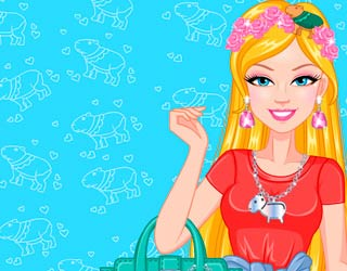 Game Barbie Capy Make-up