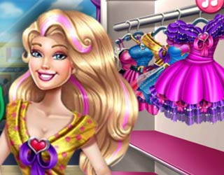 game Barbie Crazy Shopping