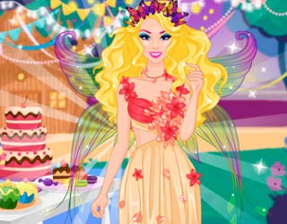 Game Barbie Flower Fairy