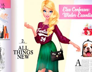 game Barbie Follows Fashion Trends