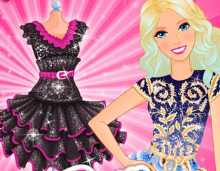 Game Barbie My Little Black Dress