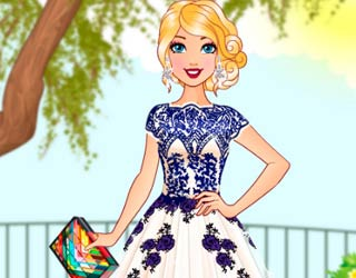 Game Barbie Pretty In Tulle Dresses