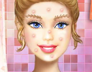 Game Barbie real Make Up