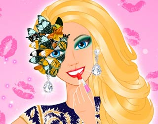 Game Barbie's Couture Makeup