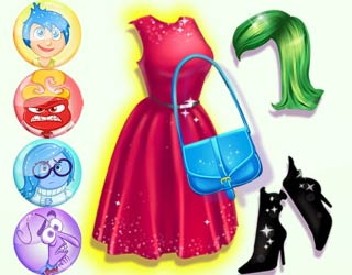 Game Barbie's Inside Out Costumes