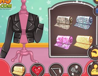 Game Barbies Leather Jacket