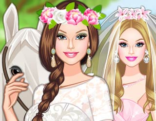 Game Barbie's Rural Wedding