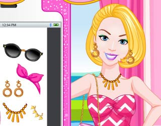 Game Barbie`s Selfie Make-up Design