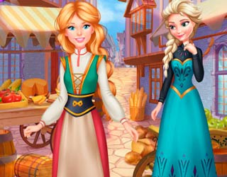 Game Barbie's Trip To Arendelle