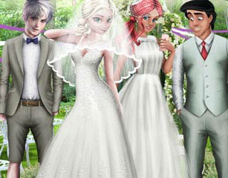 Game BFFs Couples Wedding