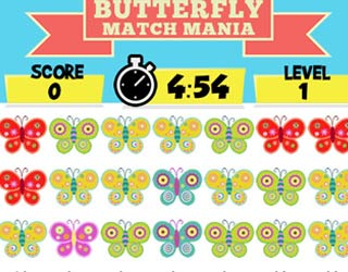 Game Butterfly match mania