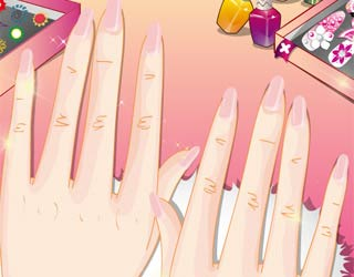Game Charming Manicure