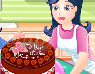 Game Chocolate Torte