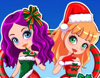 Game Christmas Dress Up And Make Up