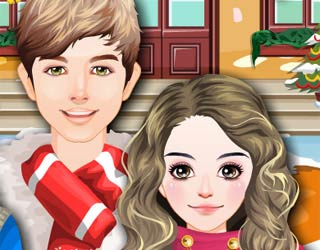 play free christmas fashion friends