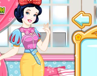 Game Cinderella And Snow White Matching Outfits