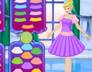 Game Cinderella Princess Dress