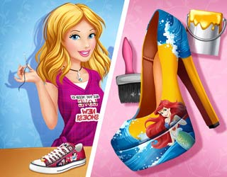 Game Cinderella's Disney Shoes