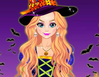 Game Cute Witch Dress Up