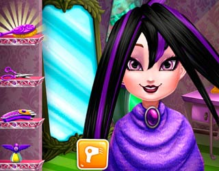 game Dark Queen Real Haircuts